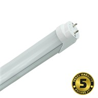 Solight LED žiarivka lineárna T8, 18W, 2520lm, 5000K, 120cm, Alu + PC