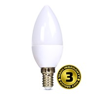 Solight LED žiarovka, sviečka, 6W, E14, 3000K, 450lm