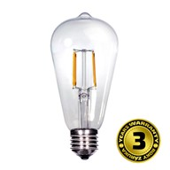 Solight LED žiarovka retro, EDISON ST65, 8W, E27, 3000K, 360°, 810lm