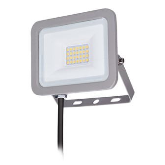 Solight LED reflektor Home, 20W, 1500lm, 4000K, IP65, sivý